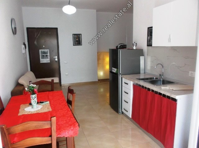 One bedroom apartment for sale close to the seafront in Vlora. It is located on the 2nd floor of a