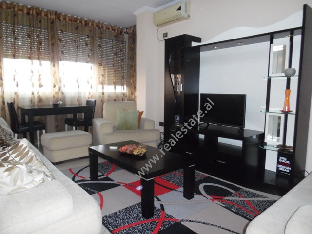 One bedroom apartment for rent near Brryli area in Tirana, Albania. It is located on the fifth floo