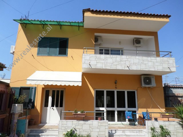 Two storey villa for rent close to Swedish Embassy, in Inajete Dumi street in Tirana, Albania.