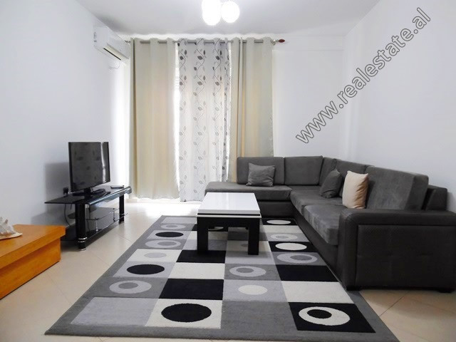 Two bedroom apartment for rent close to Asim Vokshi Street in Tirana.