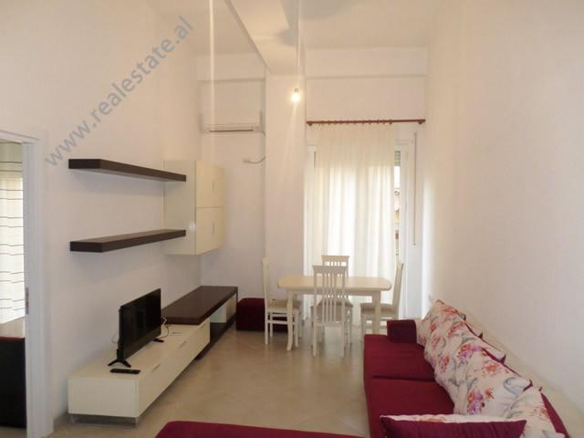 One bedroom apartment for rent near Kristal Center, in Bill Klinton Street in Tirana, Albania.  It