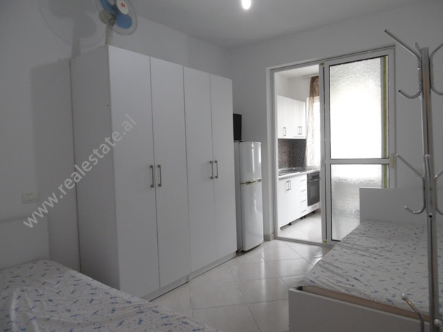 Studio apartment for rent in Mehmet Brocaj street in Tirana, Albania