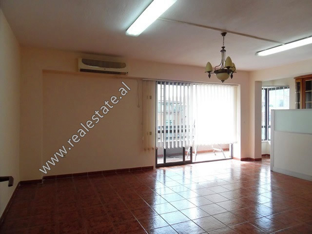 Three bedroom apartment for office for rent in Perlat Rexhepi Street in Tirana.  The office is sit