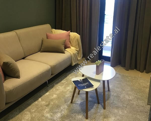 Modern apartment 1+1 for rent in Kajo Karafili street in Tirana, Albania