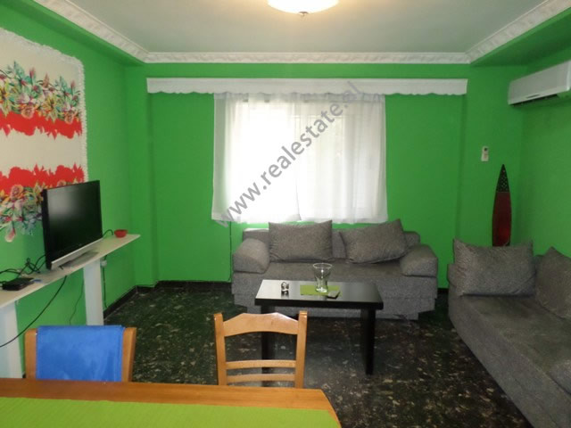One bedroom apartment for rent near Wilson Square, in Ymer Kurti street in Tirana, Albania.  It is