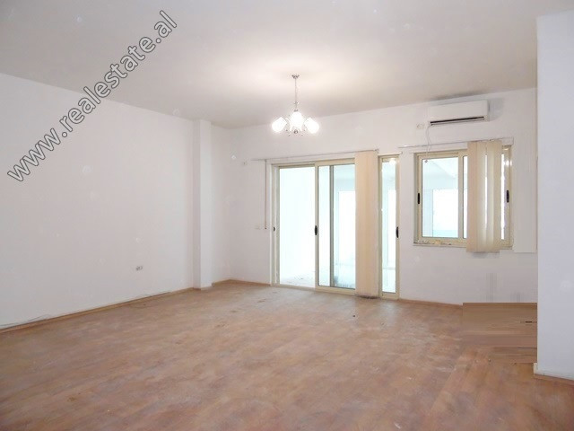 Two bedroom apartment for sale in Asim Vokshi Street in Tirana. It is located on the 3-rd floor of