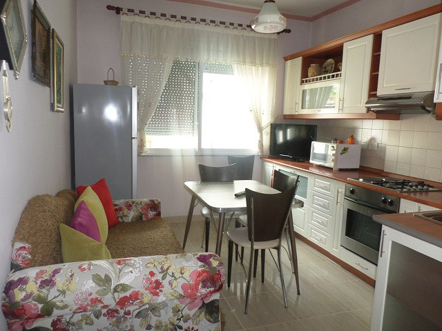 Two bedroom apartment for rent in Vangjush Furrxhi street in Tirana, Albania.