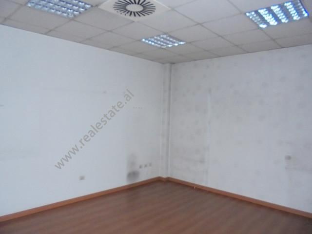 Office for rent near Skanderbeg Square, Abdi Toptani street in Tirana, Albania.  It is located on