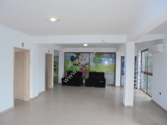 Office for rent close to Dhora Leka school in Tirana, Albania.