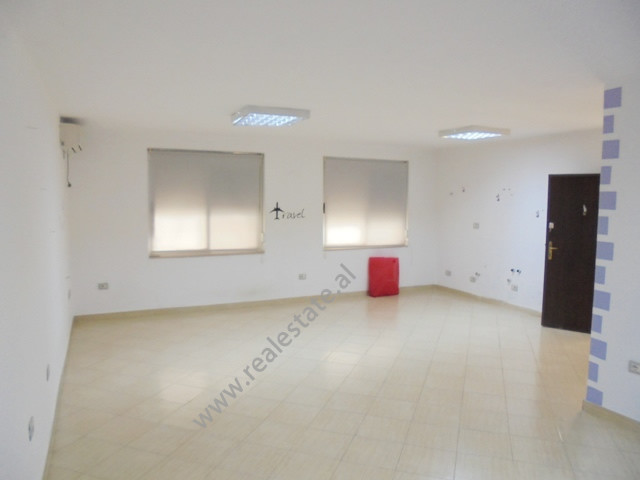 Office for rent near Papa Gjon Pali II street, in Fatmir Haxhiu street in Tirana, Albania.