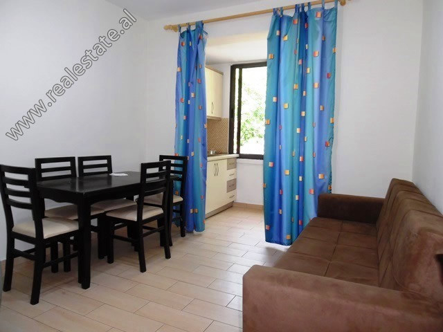 Two bedroom apartment for rent in Vangjush Furxhi Street in Tirana.