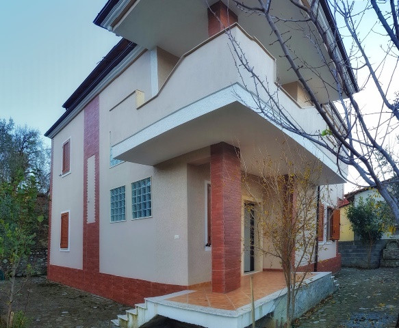 Three storey villa for sale in Krrabe village close to Tirana-Elbasan road in Tirana, Albania.