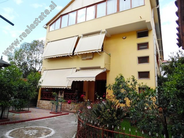 Three storey villa for sale in Albanopoli Street in Tirana.