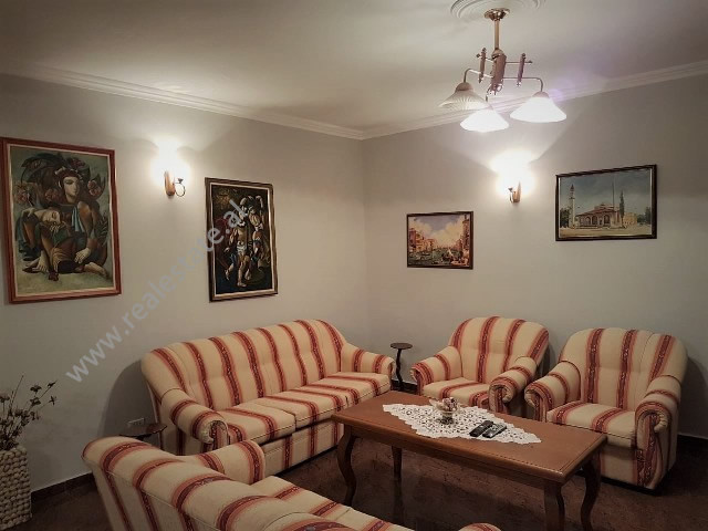 Two bedroom apartment for rent in Dervish Hatixhe Street in Tirana, Albania.