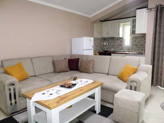 One bedroom apartment for rent in Selim Brahja in Tirana, Albania.