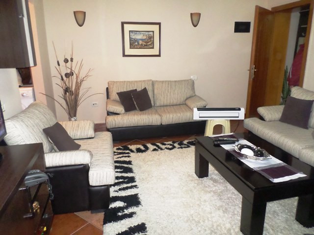 One bedroom apartment for rent in Kadri Brahimaj street in Tirana, Albania.