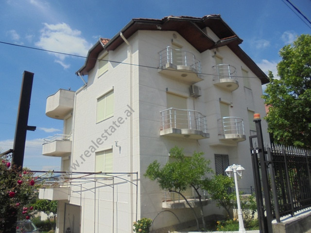 Three storey villa for rent in Farka area, in Jahja Ballhysa street in Tirana, Albania.