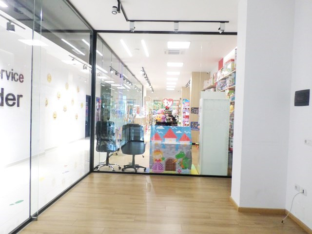 Store for rent near Artificial Lake in Tirana, Albania.