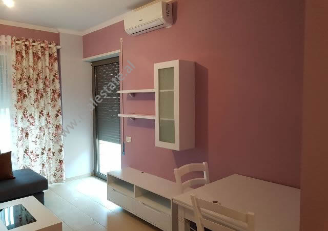 One bedroom apartment for sale in Diamond Hill Complex in Vlora, Albania. It is located on the firs