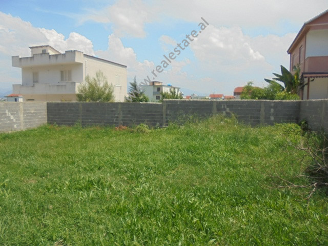 Land for sale in Yrshek area, in Bucia street in Tirana, Albania.