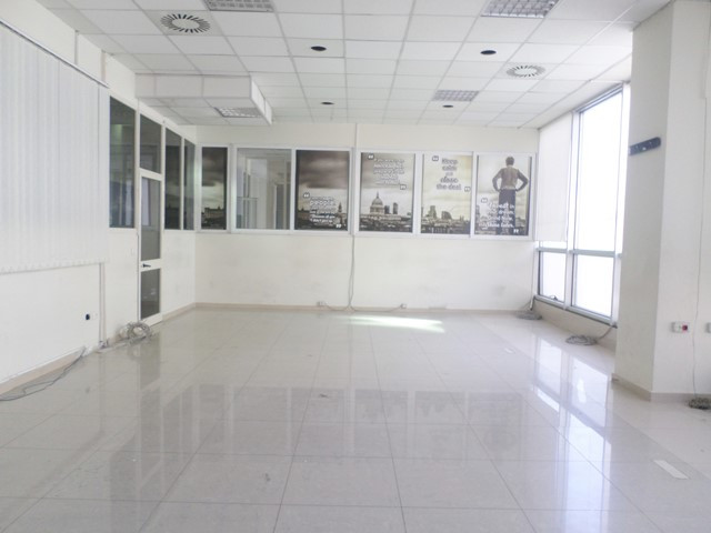 Office for rent in Rreshit Petrela street in Tirana, Albania. It is located on the third floor of a