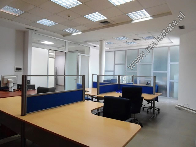 Office space for rent near Skenderbej Square in Tirana.