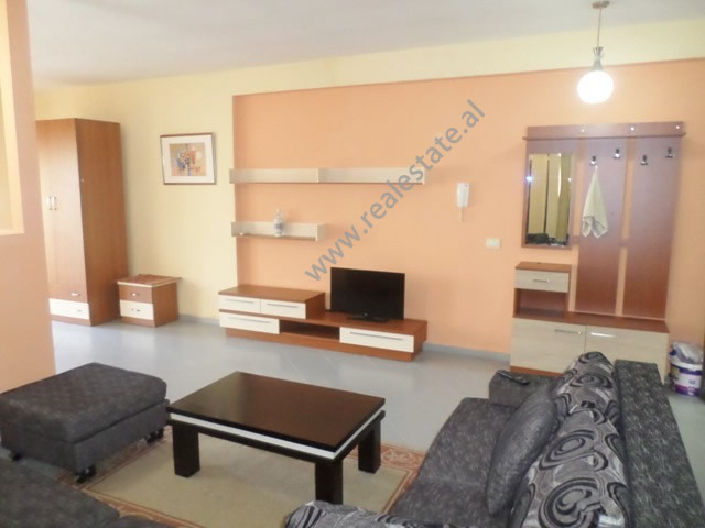 Studio apartment for rent in the Kodra e Diellit residence in Tirana, Albania.