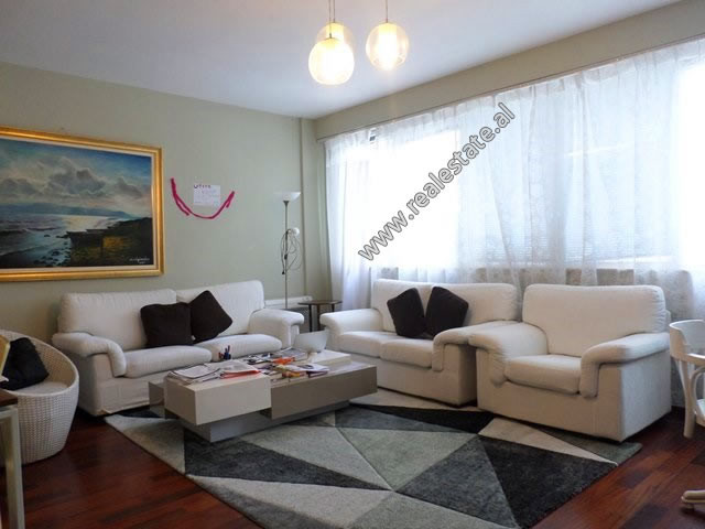Two bedroom apartment for rent close to the Grand Park of Tirana.  It is situated on the 2nd floor