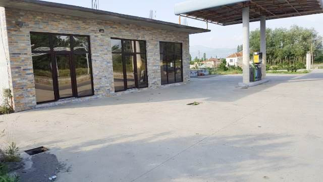 Gas station and land for sale in Gryke Lumi area in Lezha, Albania. It is located in the main stree