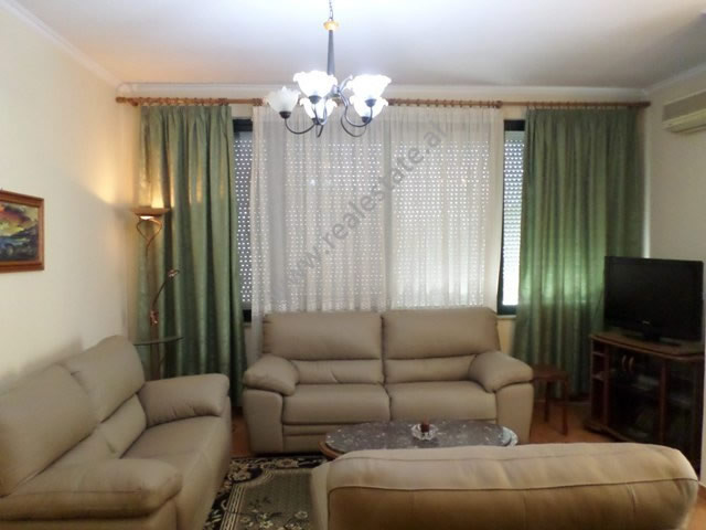 Two bedroom apartment for rent in Robert Joki street in Tirana, Albania.