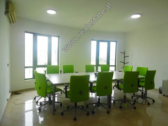 Office for rent in the beginning of Abdyl Frasheri Street in Tirana. It is located on the 9th floor