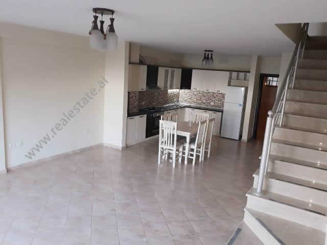 Duplex for rent in the Kodra e Diellit residence in Tirana, Albania.  It is located on the 3-rd an
