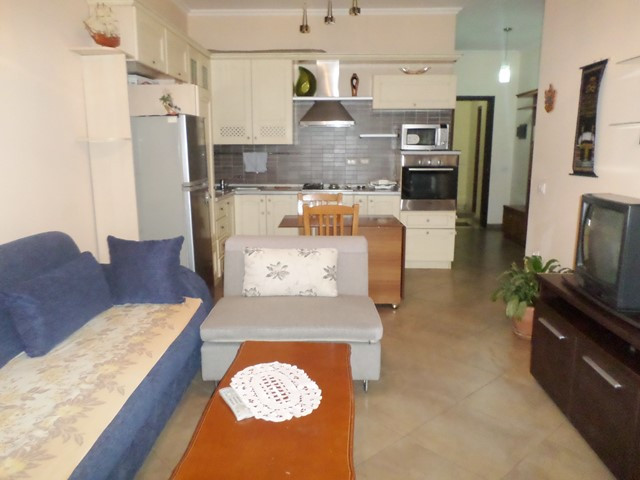 Two bedroom apartment for rent in Vizion Plus complex in Tirana, Albania.