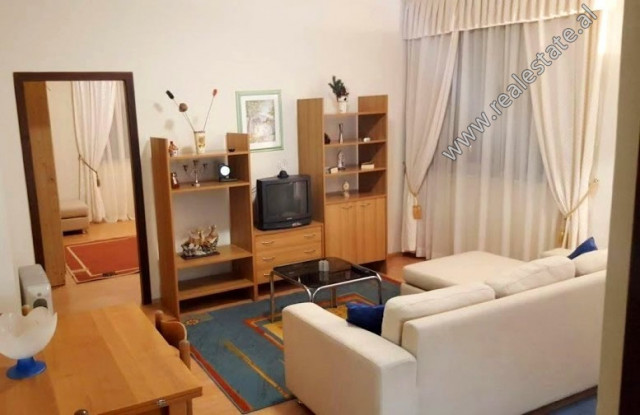 One bedroom apartment for rent near the Asim Vokshi high school in Tirana.