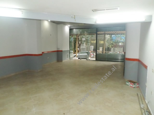 Store space for rent near Kavaja street in Frederik Shiroka street in Tirana, Albania.