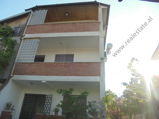 Three storey villa for sale in Vangjel Noti street in Tirana, Albania.