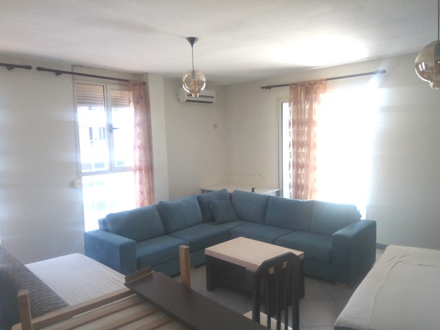 Two bedroom apartment for rent in Reshit Petrela street in Tirana, Albania.