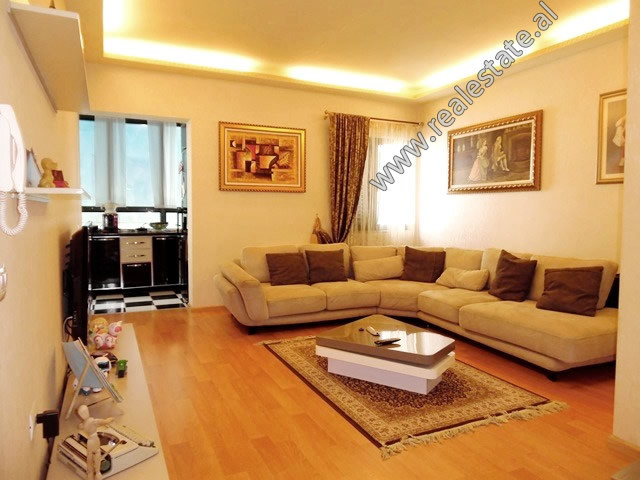 Two bedroom apartment for rent in Themistokli Germenji Street in Tirana.