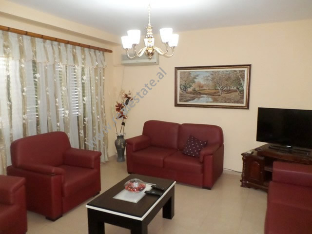 One bedroom apartment for rent in Ded Gjo Luli street, near the center of Tirana.