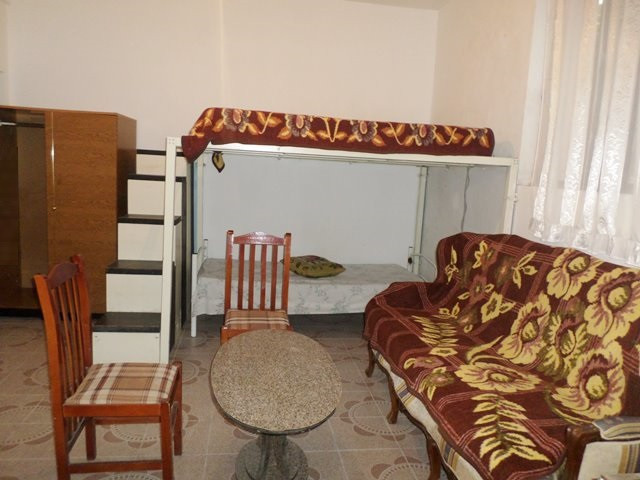 Studio apartment for rent in Kel Kodheli street in Tirana, Albania.  It is located on the ground f