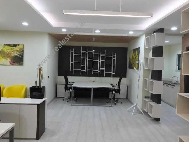 Office space for rent in Ibrahim Rugova in Tirana, Albania.  It is situated on the 5-th floor of a
