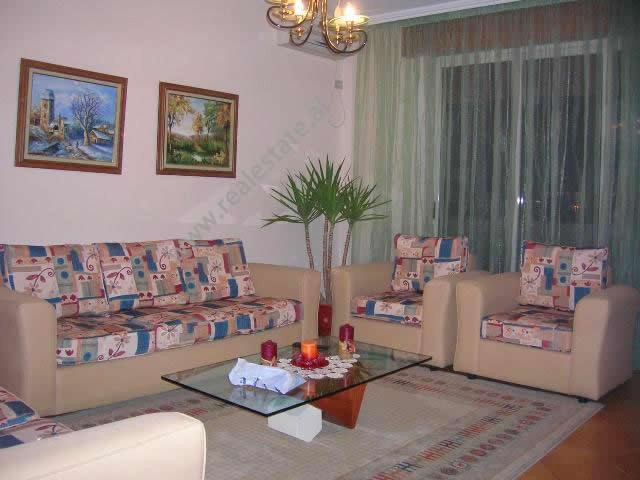 Two bedroom apartment for rent in Islam Alla street in Tirana, Albania.  It is situated on the six