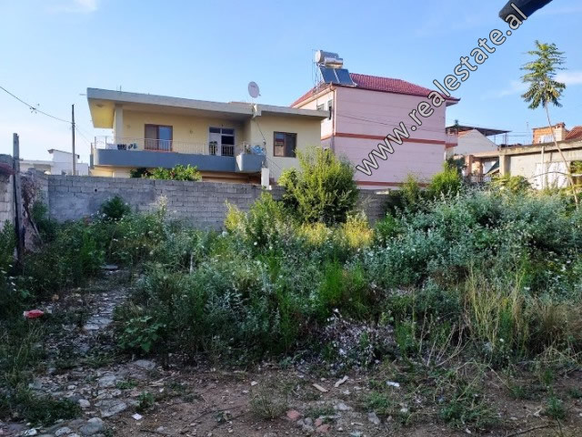 Land for sale in Gjuzepina Kosturi Street in Tirana.