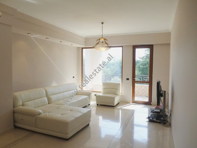 Three bedroom apartment for rent in Ibrahim Rugova street in Tirana, Albania.