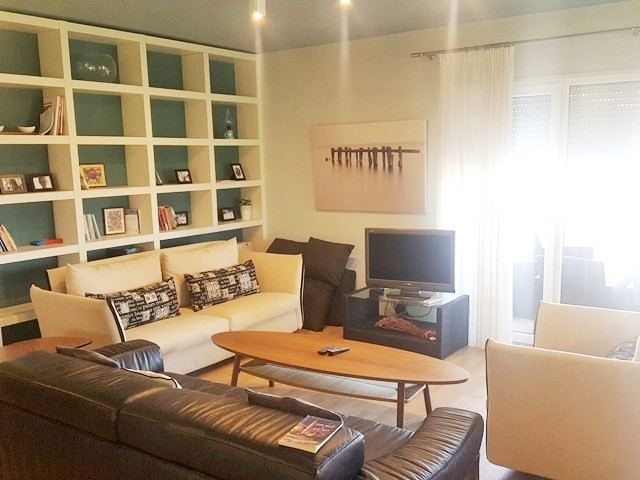 Three bedroom apartment for rent in Sunrise residence in Tirana, Albania.