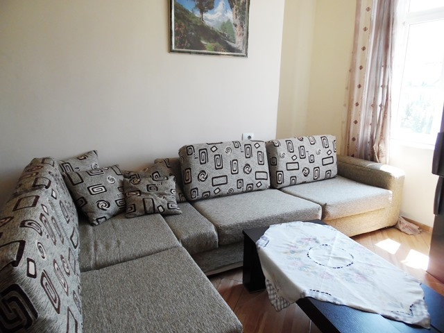 Two bedroom apartment for rent in Reshit Collaku street in Tirana, Albania.