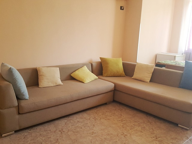 One bedroom apartment for rent in Shyqyri Berxolli street in Tirana, Albania.