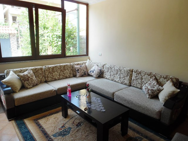 Two bedroom apartment for rent in Miftar Gerbolli street in Tirana, Albania.
