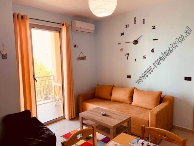 One bedroom apartment for sale close to the beach area in Shengjin.  It is located on the 5th floo