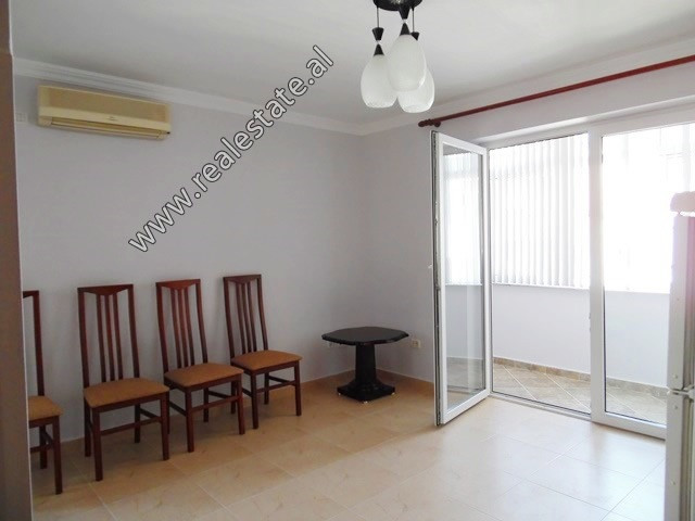 Two bedroom apartment for rent in Qemal Guranjaku Street in Tirana.  It is situated on the 5